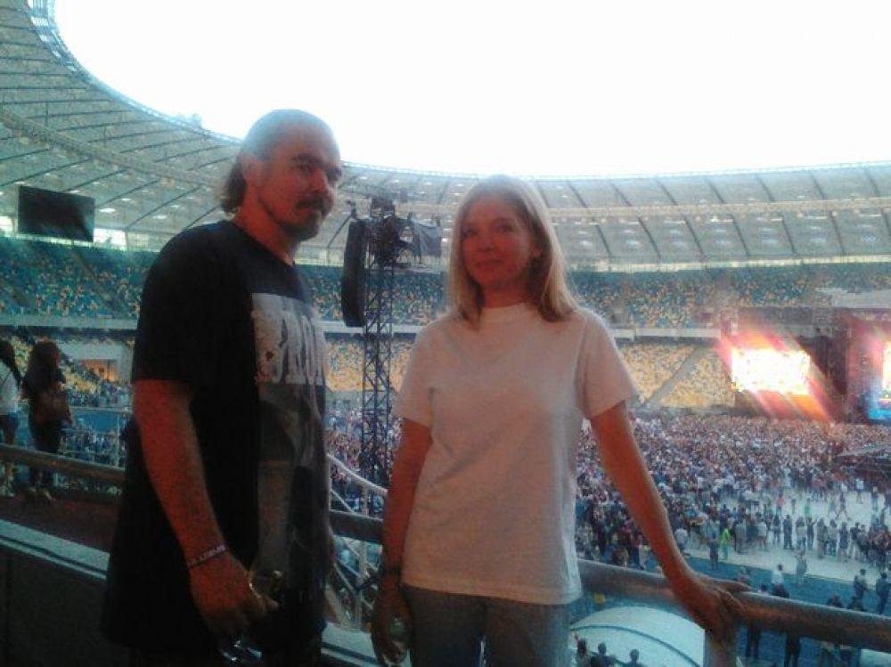 Олег Михайлюта (Фагот) и Ольга Навроцкая