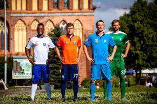 «Балтика» презентовала новую форму для футболистов.