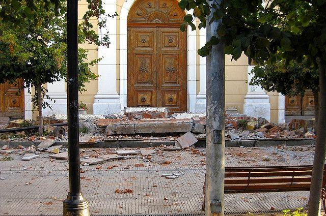 Два человека погибли во время землетрясения на греческом острове Кос