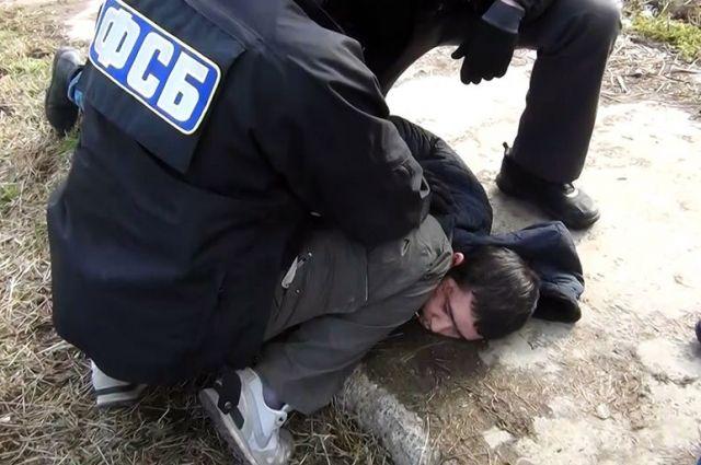 Мужчина был задержан сотрудники ФСБ.