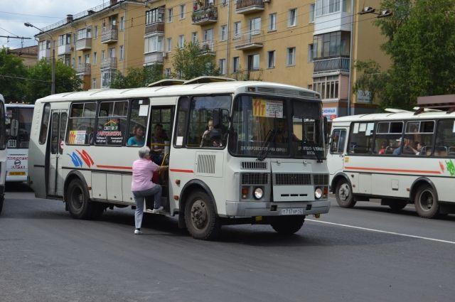 Стоимость проезда в новокузнецких маршрутках может вскоре повыситься.