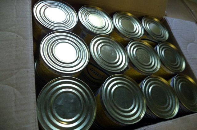 Калининградская таможня задержала 8,7 тонны рыбных консервов.