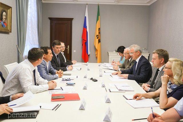 Встреча состоялась в правительстве области.