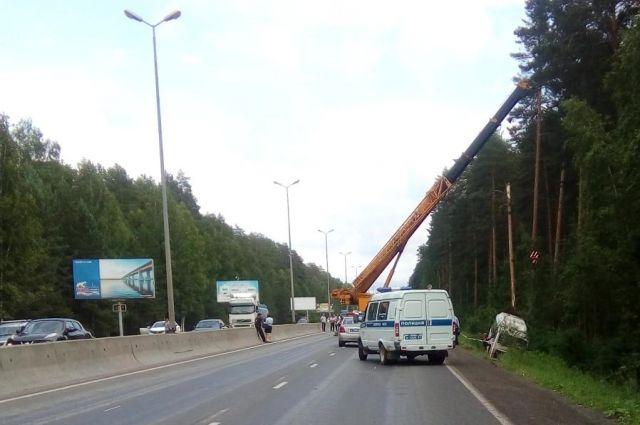 В ДТП на улице Якутской в Перми пострадали 13 пассажиров.