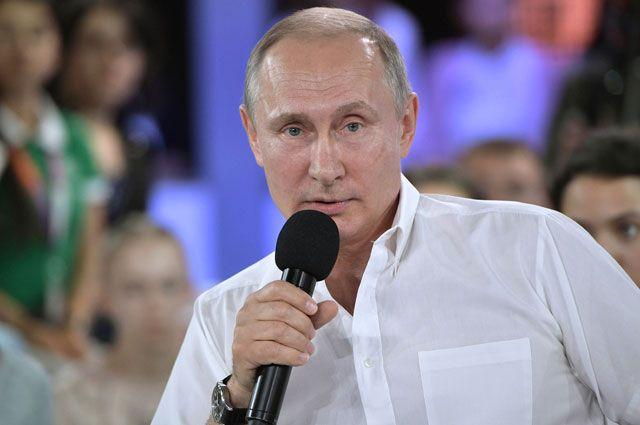 «Недетский разговор с Владимиром Путиным». Основные тезисы