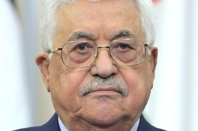 Президент Палестины объявил о замораживании контактов с Израилем