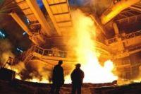 На металлургическом заводе