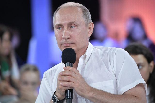 Путин сказал, как ему наобед кур резали ради гребешков