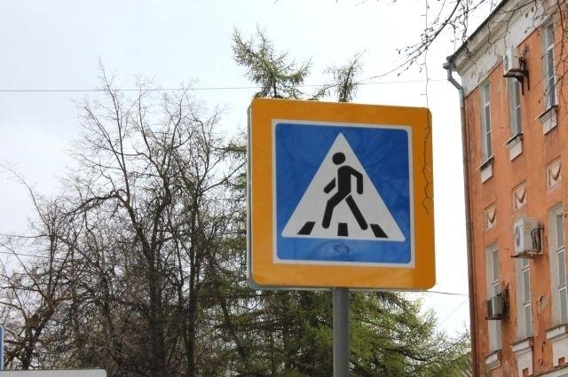 Женщина сбила сразу двух пешеходов.