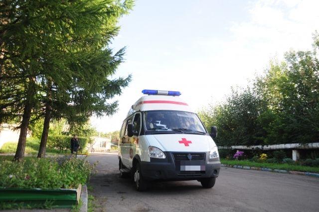 Пострадавшую увезли в другой карете скорой помощи