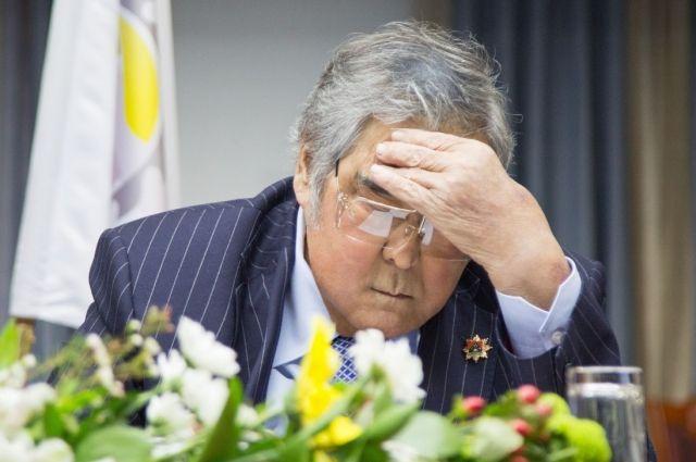 Реабилитация губернатора Кузбасса Амана Тулеева идет поплану