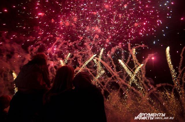 Фестиваль фейерверков в очередной раз подарил незабываемые эмоции.