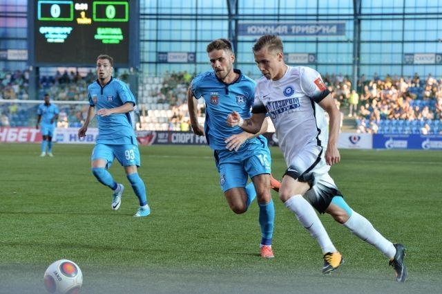 Гол Скопинцева принес «Балтике» победу над «Оренбургом».