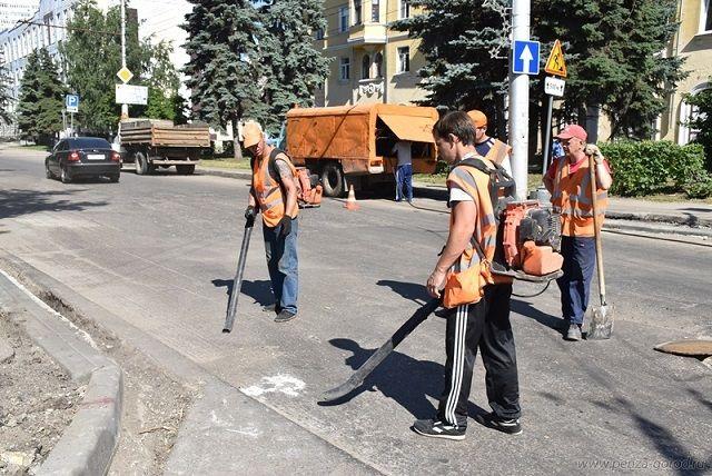 24 июля работы осуществляются на 18 улицах города.