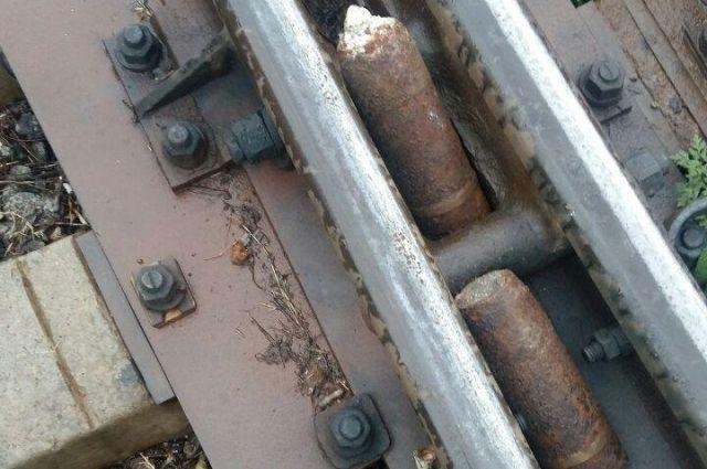 ВЖитомире нажелезнодорожных путях около вокзала отыскали боевые снаряды