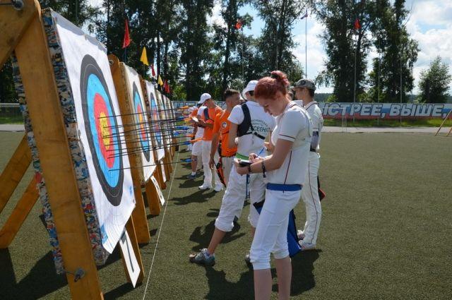 В Кемерове состоялось первенство области по стрельбе из лука.