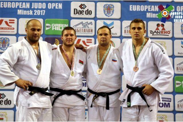 Тюменец Никита Дибрин завоевал европейскую бронзу на турнире по дзюдо