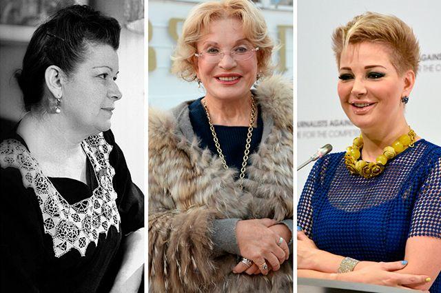 Мария Максакова-старшая, Людмила Максакова, Мария Максакова.