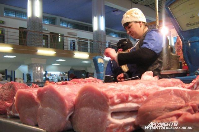 Цены на свинину остались без изменений.