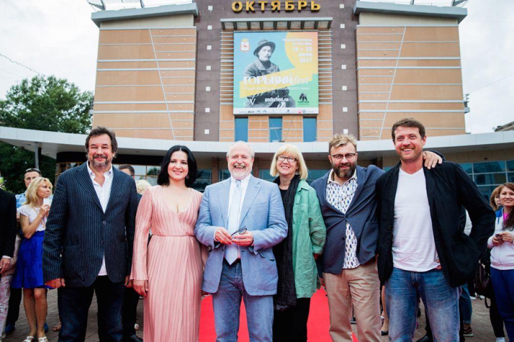 Жюри и организаторы кинофестиваля «Горький fest».