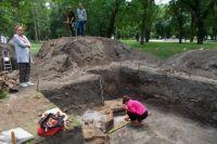 Раскопки в Чернигове