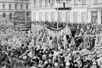 Во многих городах солдаты стали движущей силой революции.