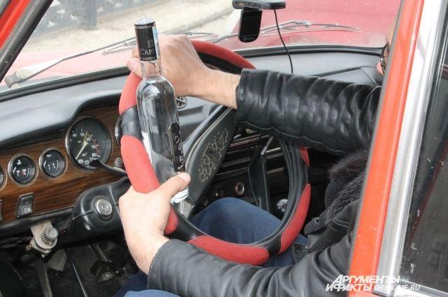 Житель Калининграда в четвертый раз попался пьяным за рулем.