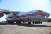 Чтобы помочь в тушении пожаров, самолёт преодолеет 2 тысячи километров.