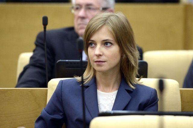 Депутат Госдумы Наталья Поклонская записала обращение к Аману Тулееву.