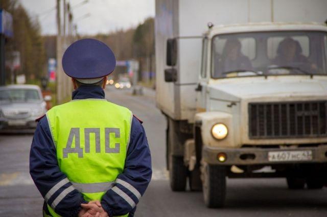 В Бузулуке полицейские задержали пьяного водителя мотороллера.
