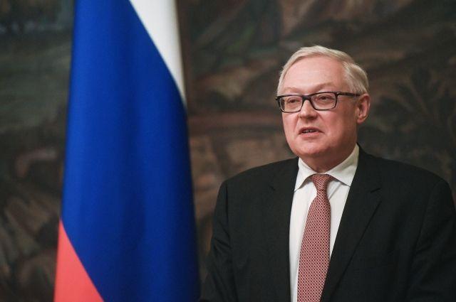 Рябков заявил, что у него с Шенноном не так много тем для обсуждения