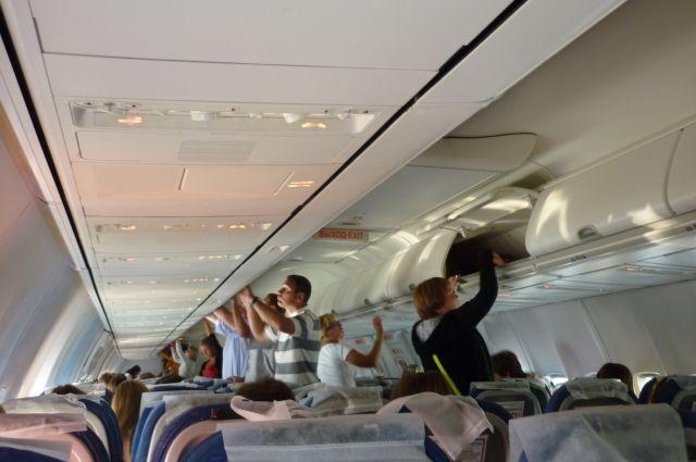 Отправка рейса задерживалась по вине авиакомпании.