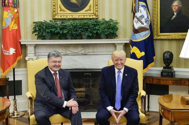 Трамп обвинил государство Украину всаботаже его избирательной кампании