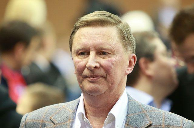 Сергей Иванов: мне постоянно звонят из магазинов, предлагают что-то купить