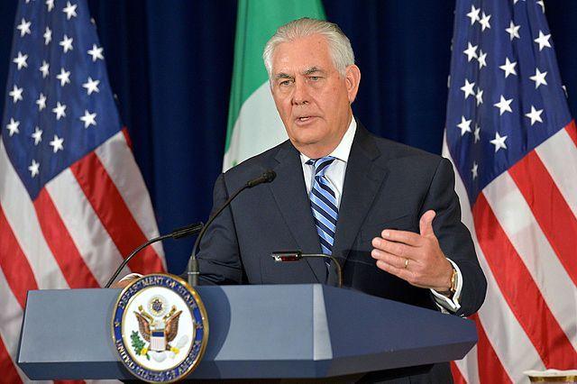Госдеп США опроверг слухи о скорой отставке Рекса Тиллерсона