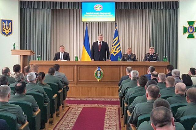 Президент представляет нового главу Госпогранслужбы