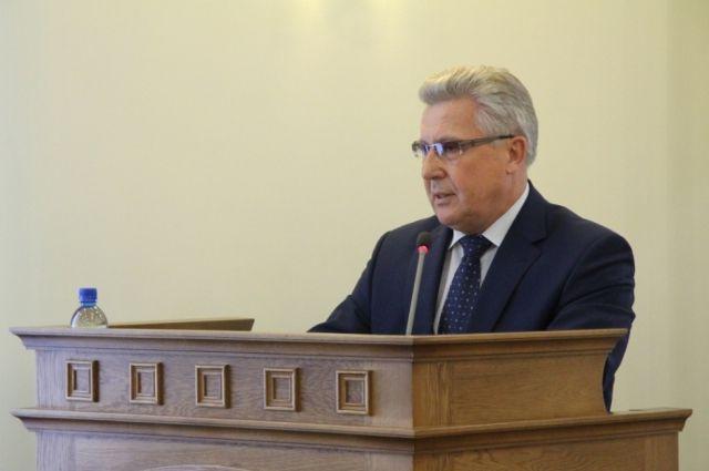 Юрий Денисов, бывший вице-губернатор Алтайского края
