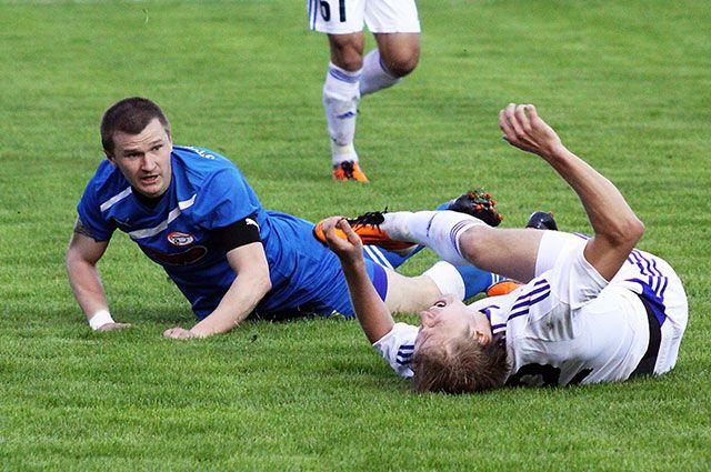 С первых минут матча с «Рязанью» стало ясно - наши настроены решительно.