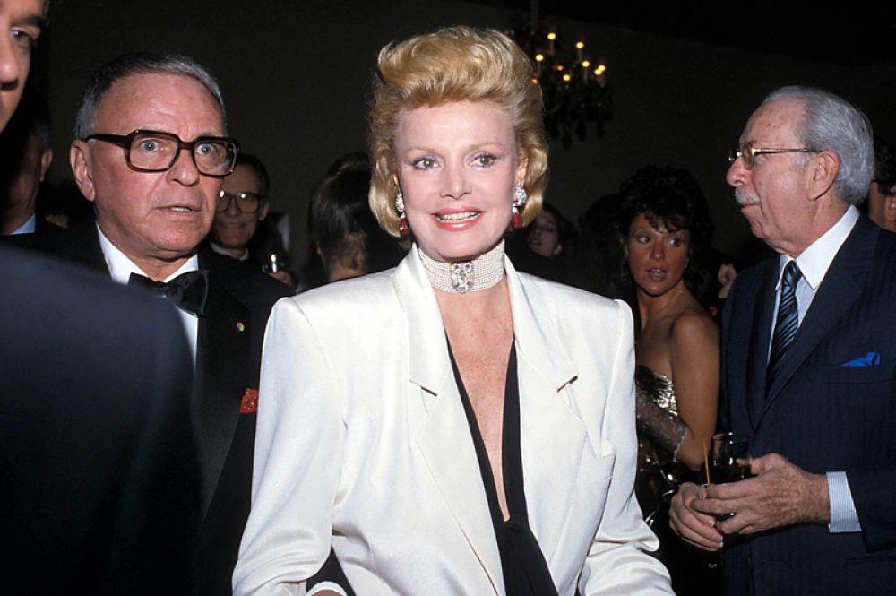 Фрэнк и Барбара Синатра, 1985 год.