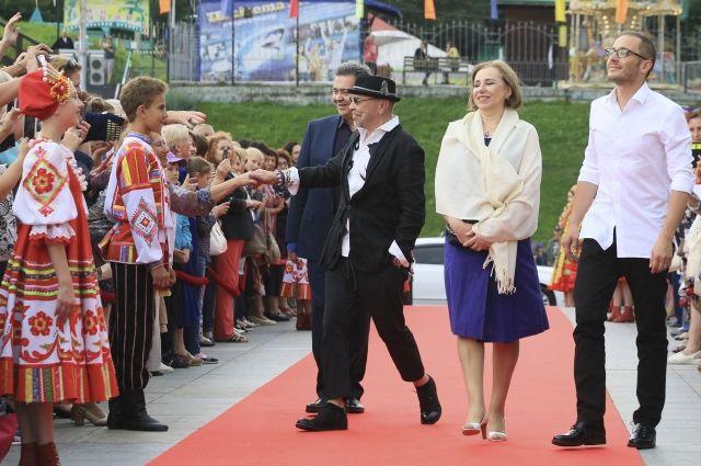 Гости Шукшинского фестиваля.