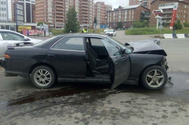 Мужчина совершил 4 аварии.