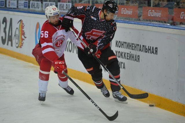 Впервом матче межсезонья омский «Авангард» уступил подмосковному «Витязю»