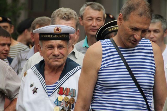 День ВМФ в Иркутске.