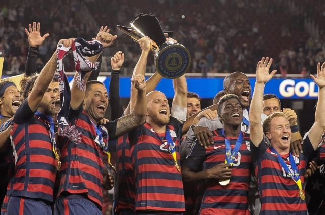 Футболисты США завоевали Золотой кубок КОНКАКАФ, обыграв сборную Ямайки