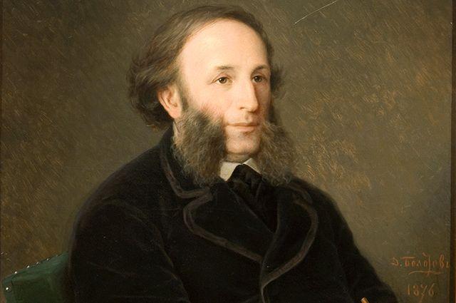 Д.М. Болотов, портрет И. Айвазовского.