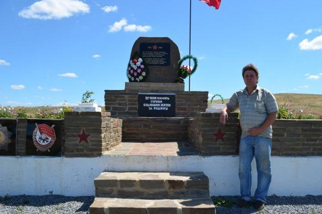 Памятник бойцам 47-й Гвардейской мотострелковой дивизии в Зайцевке Красносулинского района.