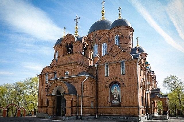 Молебен пройдет в Успенском кафедральном соборе.