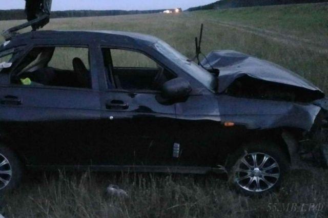 В этой аварии погибли два ребёнка.