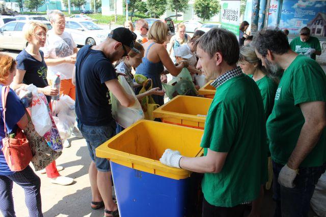 На прошлой акции было собрано более 400 кг макулатуры и более 600 кг стекла.