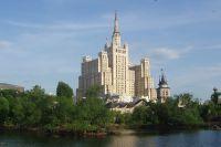 Высотка на площади Восстания (ныне Кудринской).